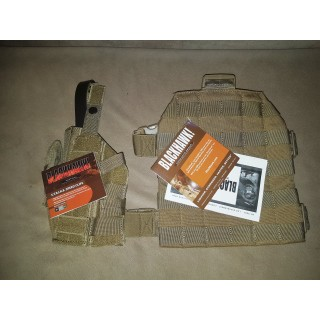 BlackHawk MOLLE pistol holster
