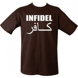Infidel black T-shirt