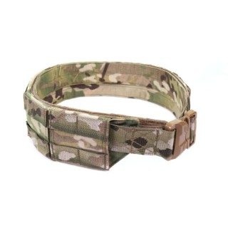 LOW PROFILE MOLLE BELT WITH POLYMER COBRA BELT MULTICAM