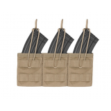 Triple MOLLE Open AK 7.62mm - Coyote Tan