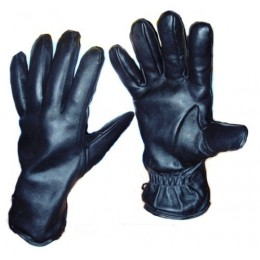 Black gloves (cold weather)