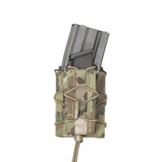 Single Quick Mag with Single Pistol Pouch MultiCam